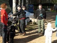 Medzinárodné cvičenie  Sokole Kužnica - príprava na kadaver